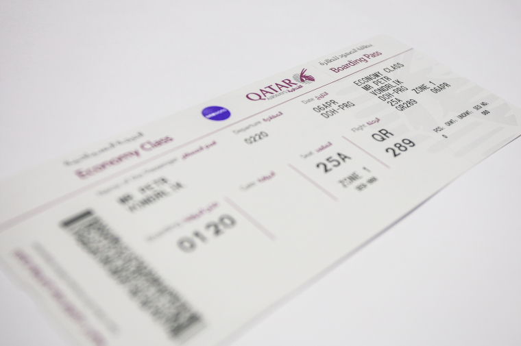 Letenka Qatar Airways